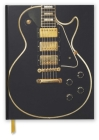 Gibson Les Paul Black Guitar (Blank Sketch Book) (Luxury Sketch Books #58) Cover Image