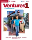 Ventures Level 1 Student's Book [With CD (Audio)] Cover Image