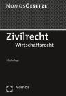 Zivilrecht: Wirtschaftsrecht - Rechtsstand: 20. August 2019 Cover Image