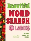 Beautiful Word Search for Ladies Cover Image