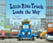 Little Blue Truck Leads the Way Cover Image