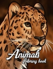 Animal Coloring Book - Kids 37 Pages Cover Image