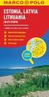 Estonia, Latvia, Lithuania Marco Polo Map (Marco Polo Maps) Cover Image