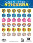 Piano Achievement Stickers: Pack of 96 Stickers Cover Image