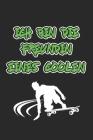 Ich bin die Freundin eines coolen Skaters: Monatsplaner, Termin-Kalender - Geschenk-Idee für Skater & Skateboard Fans - A5 - 120 Seiten Cover Image