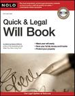 Quick & Legal Will Book [With CDROM] Cover Image
