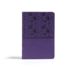 CSB Giant Print Reference Bible, Purple LeatherTouch Cover Image