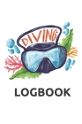 Diving Logbook: Scuba Dive Log Book 100 Pages Cover Image