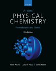 Atkins' Physical Chemistry 11E: Volume 1: Thermodynamics and Kinetics Cover Image