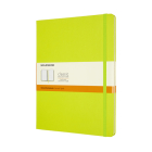 Moleskine Classic Notebook, Extra Large, Ruled, Lemon Green, Hard Cover (7.5 X 9.75) Cover Image