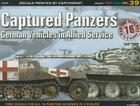 Captured Panzers: German Vehicles in Allied Service (Mini Topcolors #39) Cover Image
