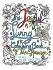 The Joyful Living Colouring Book Cover Image