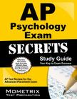 AP Psychology Exam Secrets, Study Guide: AP Test Review for the Advanced Placement Exam Cover Image