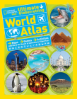 National Geographic Kids Ultimate Globetrotting World Atlas: Maps, Games, Activities, and More for Hours of Adventure-filled Fun! Cover Image