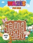 Mazes for kids - Space: Maze Activity Book Ages 4-6 Amazing Rockets, Astronauts Workbook for Games, Puzzles, and Problem-Solving Cover Image