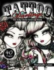 Tattoo Darlings: An Inky Girls Coloring Book Cover Image
