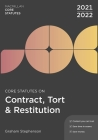 Core Statutes on Contract, Tort & Restitution 2021-22 Cover Image