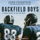 Backfield Boys Lib/E: A Football Mystery in Black and White Cover Image