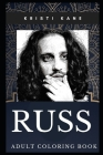 Russ Adult Coloring Book: Millennial Rapper and Hip Hop Idol Inspired Coloring Book for Adults Cover Image
