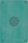 ESV Value Compact Bible (Trutone, Turquoise, Emblem Design) Cover Image