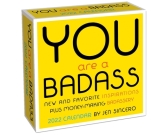 You Are a Badass 2022 Day-to-Day Calendar Cover Image