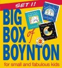 Big Box of Boynton Set 1!: Barnyard Dance! Pajama Time! Oh My Oh My Oh Dinosaurs! (Boynton on Board) Cover Image