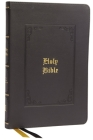 Kjv, Thinline Bible, Large Print, Vintage Series, Leathersoft, Black, Red Letter, Comfort Print: Holy Bible, King James Version Cover Image