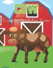 Cow Coloring Book for Teens: Cows Adult Coloring Book For Stress Relief and Relaxation - Beautiful Cow Coloring Book For Adults . Vol-1 Cover Image