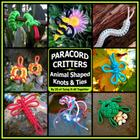 Paracord Critters: Animal Shaped Knots and Ties Cover Image