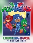 PJ-Masks Coloring Book Vol 3: Adorable And Wonderful Illustrations Inside PJ-Masks Coloring Book With Lovely Designs Cover Image