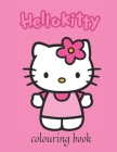 Hello Kitty Coloring Book Cover Image