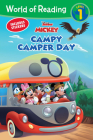 World of Reading: Mickey Mouse Mixed-Up Adventures Campy Camper Day (Level 1 Reader) Cover Image