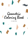 Geometric Patterns Coloring Book for Teens and Young Adults (8x10 Coloring Book / Activity Book) Cover Image