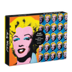 Warhol Marilyn 500 Piece Double Sided Puzzle Cover Image