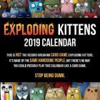 Exploding Kittens 2019 Wall Calendar Cover Image