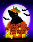 Halloween Activity Book for Kids: Beautiful fall coloring book for 3-8 girls with quality illustration ever Cover Image