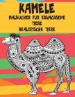 Malbücher für Erwachsene - Realistische Tiere - Tiere - Kamele Cover Image
