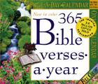 365 Bible Verses-A-Year Page-A-Day Calendar 2007 Cover Image