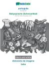 BABADADA black-and-white, português - Babysprache (Scherzartikel), dicionário de imagens - baba: Portuguese - German baby language (joke), visual dict Cover Image