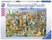 World Landmarks 1000 PC Puzzle Cover Image