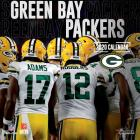 Green Bay Packers: 2020 12x12 Team Wall Calendar Cover Image