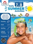 Daily Summer Activities: Moving from 7th Grade to 8th Grade, Grades 7-8 Cover Image