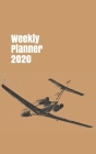 Weekly Planner 2020: handy calendar organizer for aviation enthusiasts. 5x8. 120 pages. (Flight #9) Cover Image