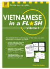 Vietnamese in a Flash Kit Volume 1 [With 448 Cards] (Tuttle Flash Cards #1) Cover Image