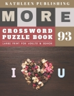 Crosswords for Seniors: Easy Crossword Puzzles for seniors - More Large Print Crosswords Game - Hours of brain-boosting entertainment for adul Cover Image