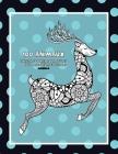 Livres à colorier pour adultes pour marqueurs et crayons - Mandala - 100 animaux Cover Image