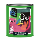 Puz 100 Tin Artsy Cats Henri Catiss Cover Image