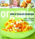 Organic Baby & Toddler Cookbook Cover Image