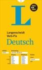 Langenscheidt Verb-Fix Deutsch (Langenscheidt German Verb-Fix): Deutsche Verben Auf Einen Blick - Ideal Zum Üben Cover Image