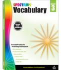 Spectrum Vocabulary, Grade 3 Cover Image
